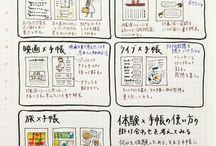 手帳・アルバム