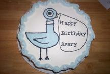 Pigeon birthday cake
