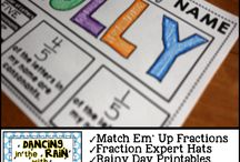 maths fractions year 3