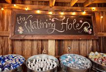 barrel wedding ideas