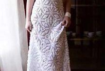Heklet brudekjole mønster