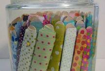 Storing ribbons