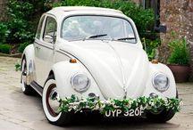 Fleurs voiture mariage