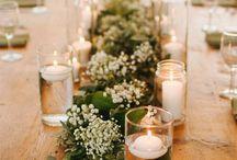Naturális esküvői dekor