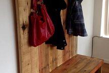 Outdoor hanger&shoerack