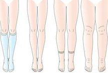 dicke Beine