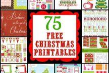 Christmas tags/printables