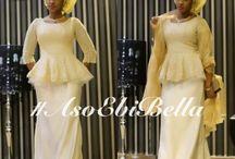 Nigerian Weddings Aso Ebi