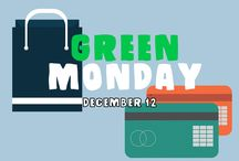 GREEN MONDAY / Green Monday is December 11. It's one of the most popular online shopping holidays in the U.S., and international shoppers can use Borderlinx to access all the best deals!