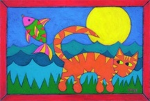 Cat-tastic Art! / by PetsitUSA Pet Sitter Directory