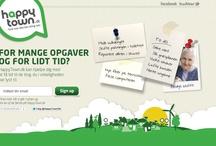 www.HappyTown.dk / New danish task crowdsourcing peer-to-peer in your local community