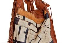 Carpet and kilim bags