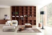 Librerías - muebles de diseño / Librerías de diseño. Riva 1920, Lema, MDF Italia, Lago, etc.
