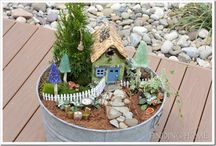 Fairy Gardens / by Linda Rowe