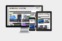 Website Design / We provide custom website design services for all size of businesses across the globe.