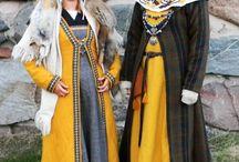 średniowieczne ubrania