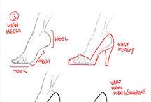 jak rysować ubrania
