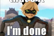 Miraculous / About Chat Noir and Ladybug :3