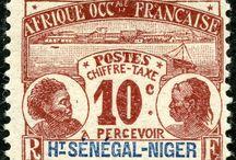 Sengal-Niger Stamps