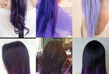 tonos violetas