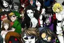 Creepypasta / It's about all the creepypasta people and who they are