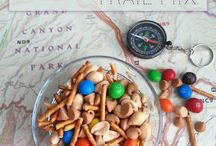 Snacks + Lunch