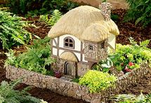 Fairy, Gnome and Hobbit Homes and Gardens / by Frances Halpin