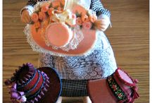 Miniature hats /  For dolls