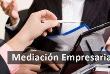 mediación empresarial / La Mediación aplicada al ámbito Empresarial permite que las empresas puedan resolver los conflictos surgidos dentro de la propia organización, o aquellos derivados de su relación con otras empresas.