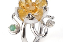 Lovely Rings / Ariane Rocher Jewellery has a beautiful collection of bespoke designer handmade rings.