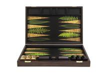 Leaf Backgammon Board