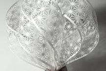 Kirigami, Paper cut