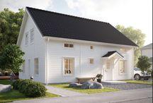 Vårt Myresjöhus / Bygget av vårat nya hus samt inspirationsbilder