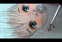 vídeos pintura bebes
