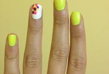 fun paintings for fingernails / by April Mackey