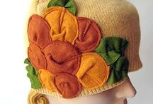chapeaux ,bonnets ,bérets, bandeaux / Tutos et patrons  / by angeline laulan