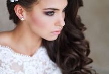 Side hair bridal
