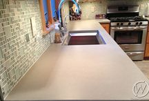 CustomCreteWerks / Custom countertops, concrete sinks, concrete tables and much more. If you can dream it, we can help make it a reality in your home, office or commercial space. Learn more about kitchen & bathroom remodeling and concrete products. http://customcretewerks.com/