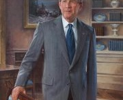 John Howard Sanden ~ American Portrait Painter / Portraits of President George W. Bush and First Lady Laura Bush were unveiled today, May 31, 2012 at the White House.  They are beautiful portraits.