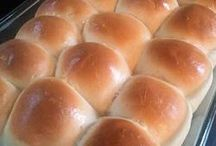 Baked bread and rolls