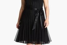 vestido tableado