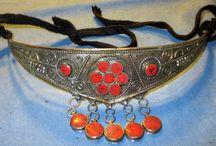 Crowns / Afghan tribal Kuchi crowns/tiaras.