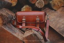 Tas Kamera Kulit ( Leather Camera Bags ) / Tas Kamera Kulit yang stylish