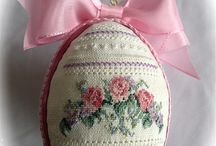 Egg embroidery