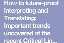 Translators / What the future holds for translators...
