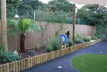 Sensory Garden for Willowdene School in London. / A new Sensory Garden designed, manufactured and installed by Sensory Technology Ltd. Team work at it's best...