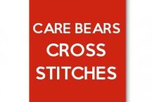 Care bears cross stitches