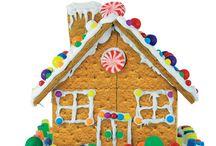 gram cracker houses