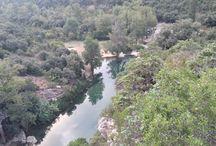 Rivières dans les Corbières / Les coins de baignade ou simplement de repos au milieu de la nature.
