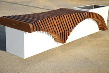 BENCHES / Modern outdoor furniture.